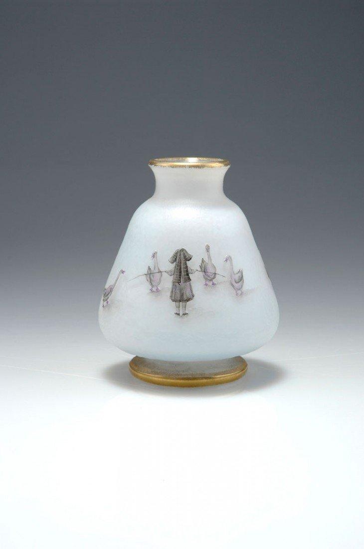 6: Vase 'La petite Gardeuse d'oies' (The goosemaid)