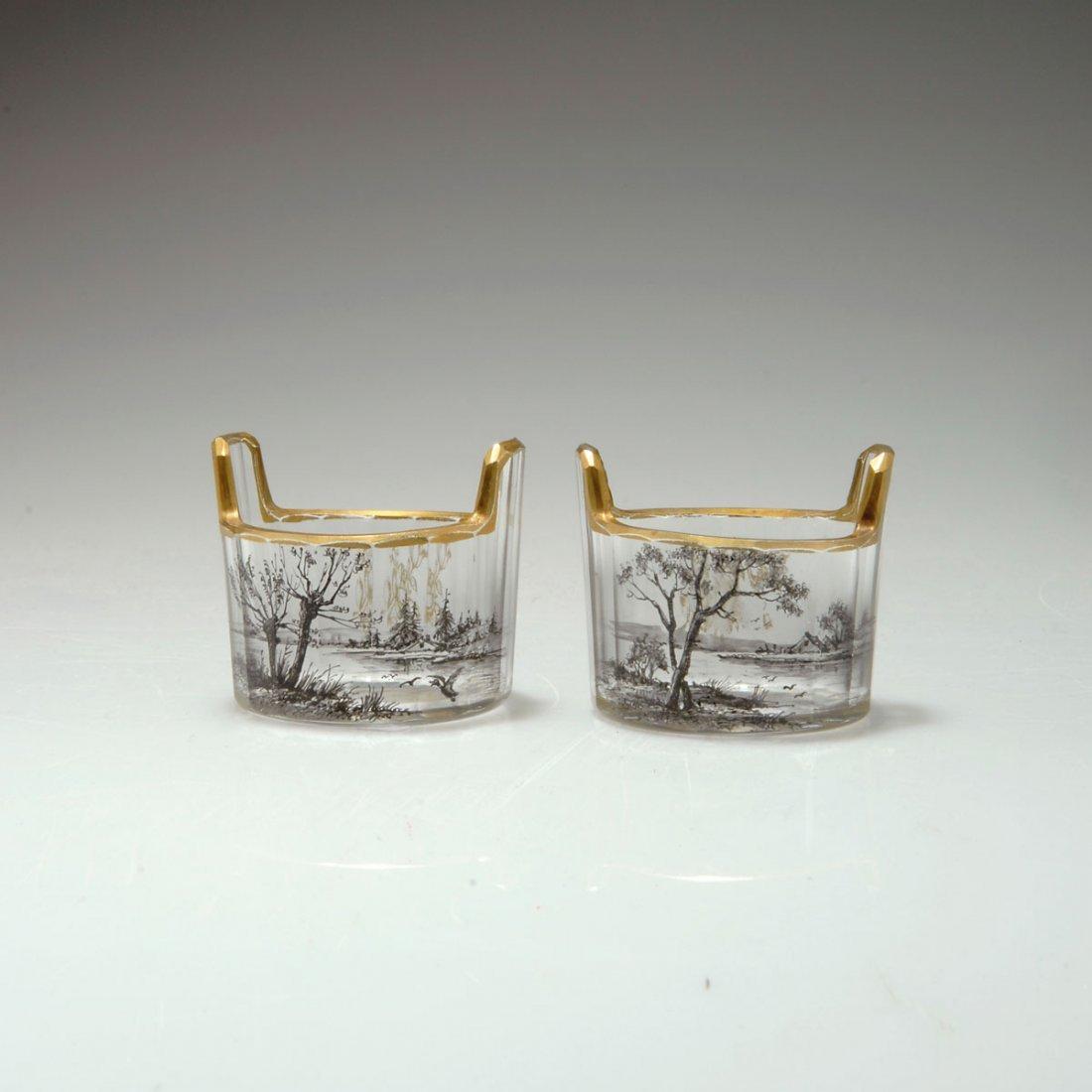 22: Paar Salzfässchen, um 1892