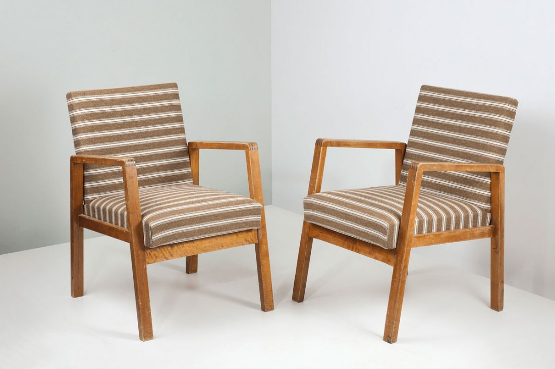 Pair of '403' easy chairs