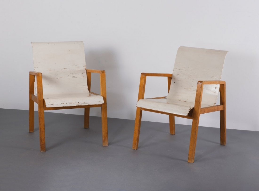 Pair of '403' armchairs