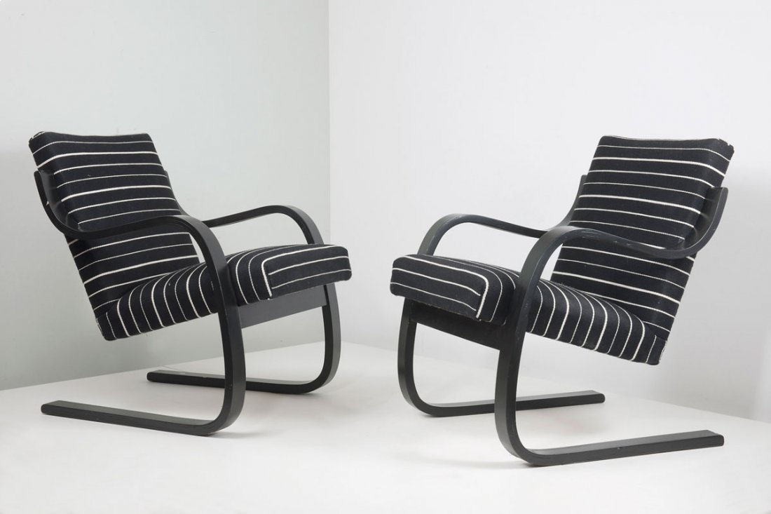 Pair of '402' easy chairs