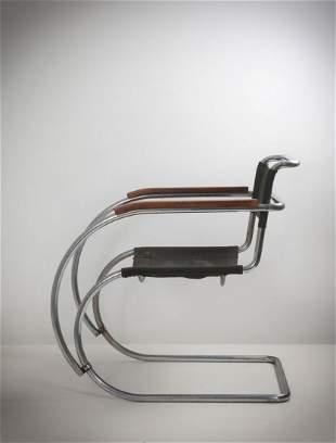 L. Mies van der Rohe 'Weissenhof MR 20/MR 534' armchair