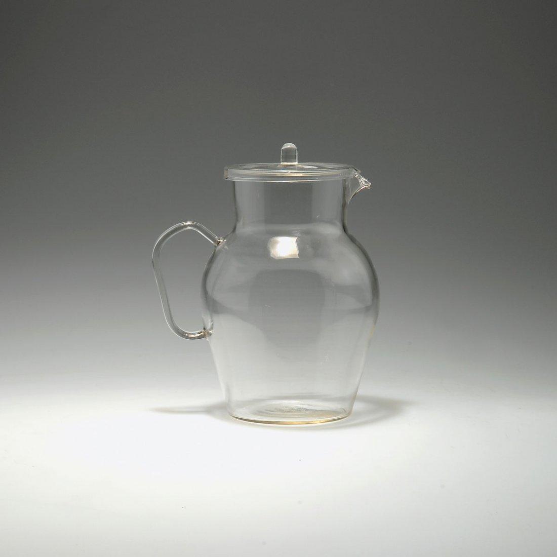 Wilhelm Wagenfeld. Lemonade jug with lid