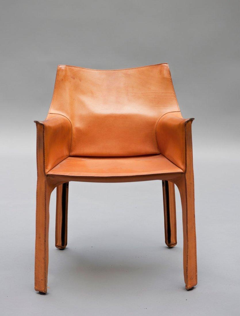 Mario Bellini. Four 'Cab 413' chairs - 2