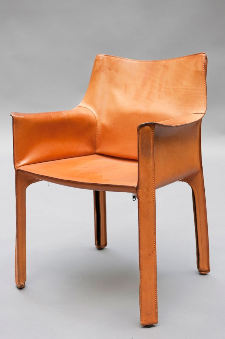 Mario Bellini. Four 'Cab 413' chairs - 3