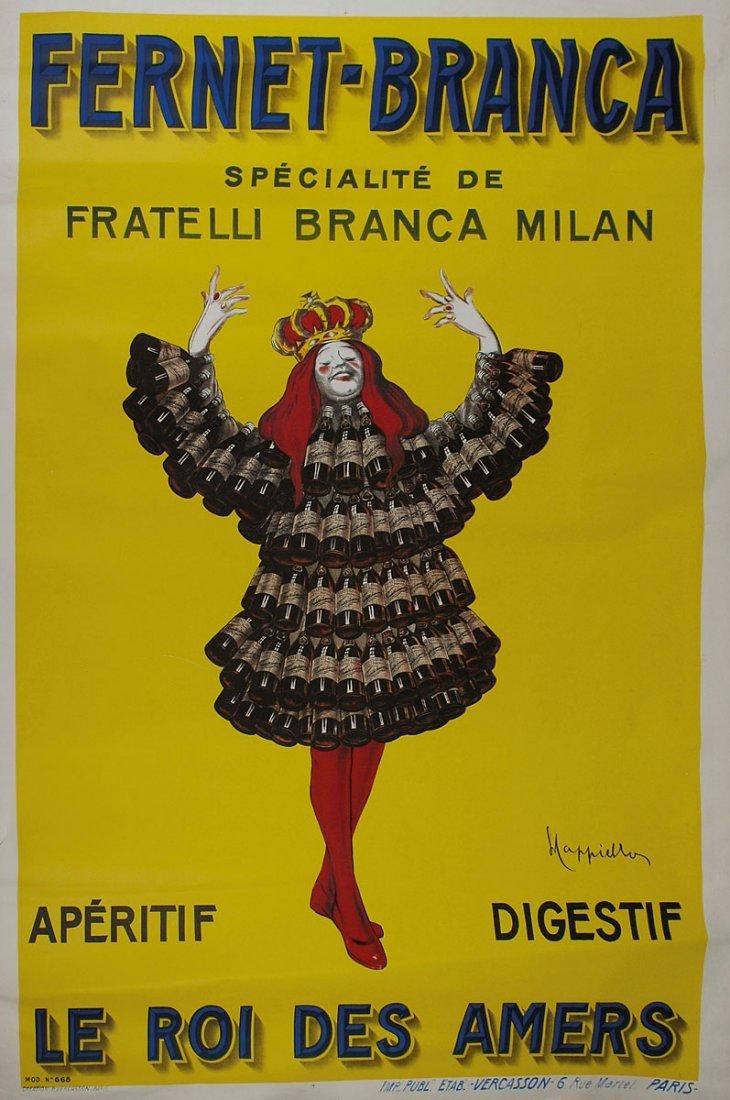 Large 'Fernet Branca' poster, 1909