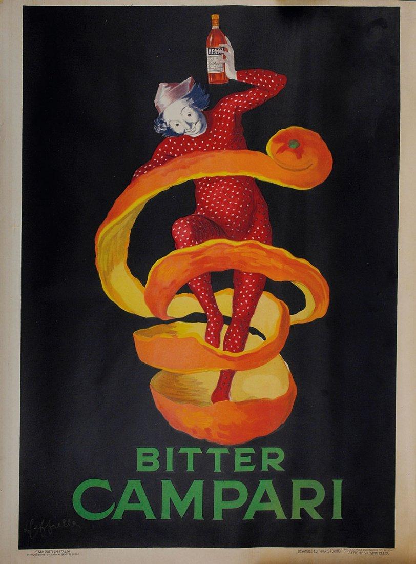 'Campari' poster, 1921