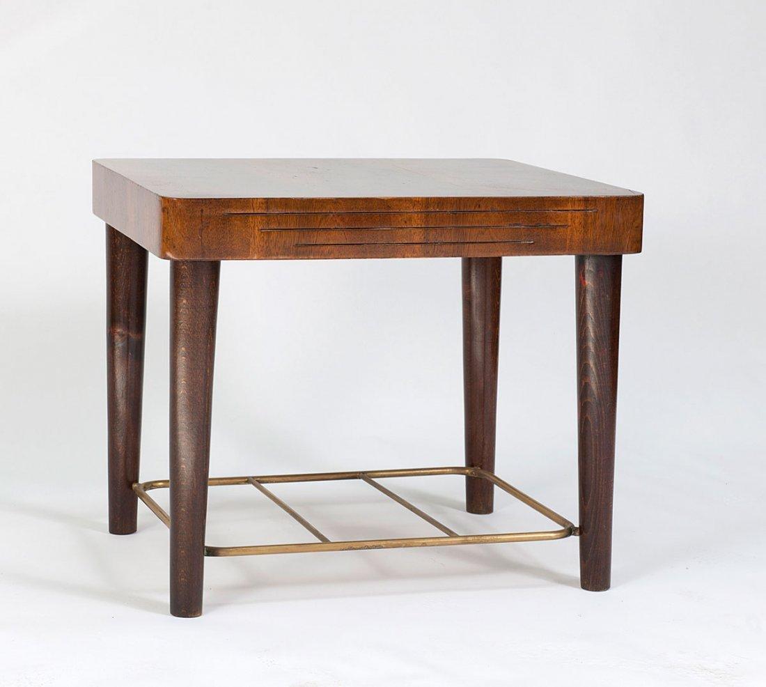 Suitcase table, c1960