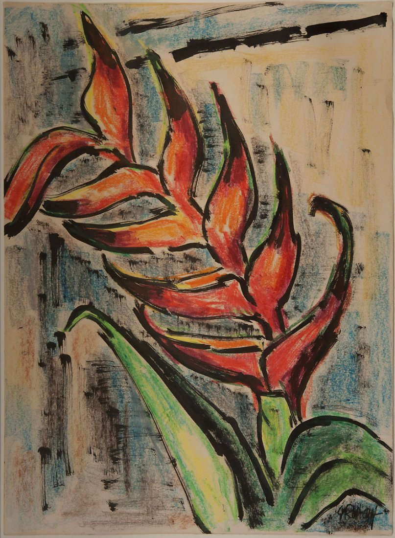 8: 'Exotic flowers', 1960s