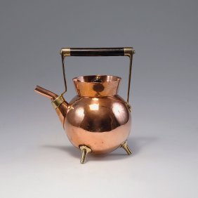 10: Hotwater kettle, c1885