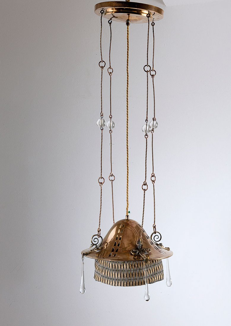 16: Ceiling light, c1915-20