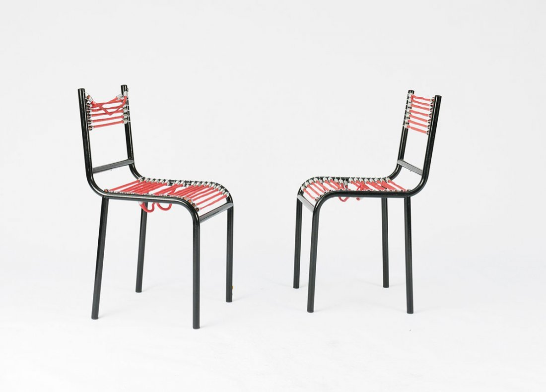 21: Pair of 'Sandow' chairs, 1928/29