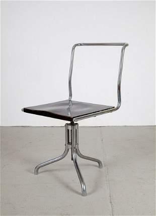 1095: Three-legged 'B 7' desk chair, c1930