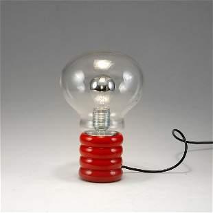 Ingo Maurer. 'Bulb' table light, 1966. H. 29 cm. Made b