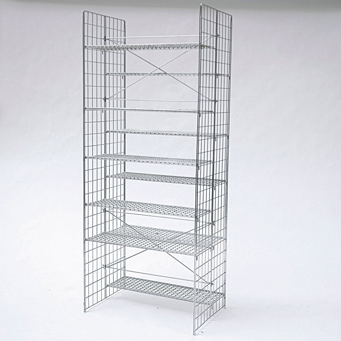 Otl Aicher. Prototype shelf, c1975. H. 188 x 85 x 50.5  - 5