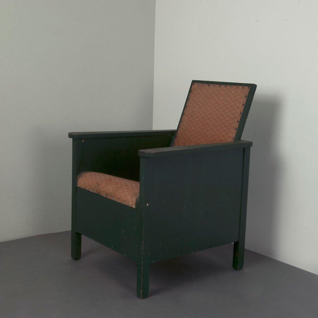 Sweden. Prototype easy chair, 1920/30s. H. 88 x 66 x 67