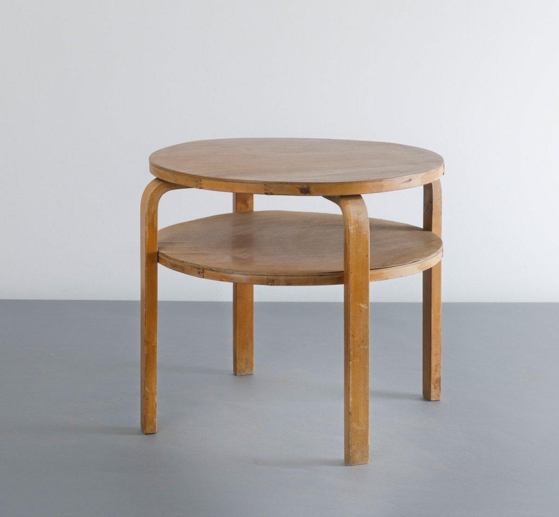 Alvar Aalto. '70' sofa table, var., 1933. Made by Huone