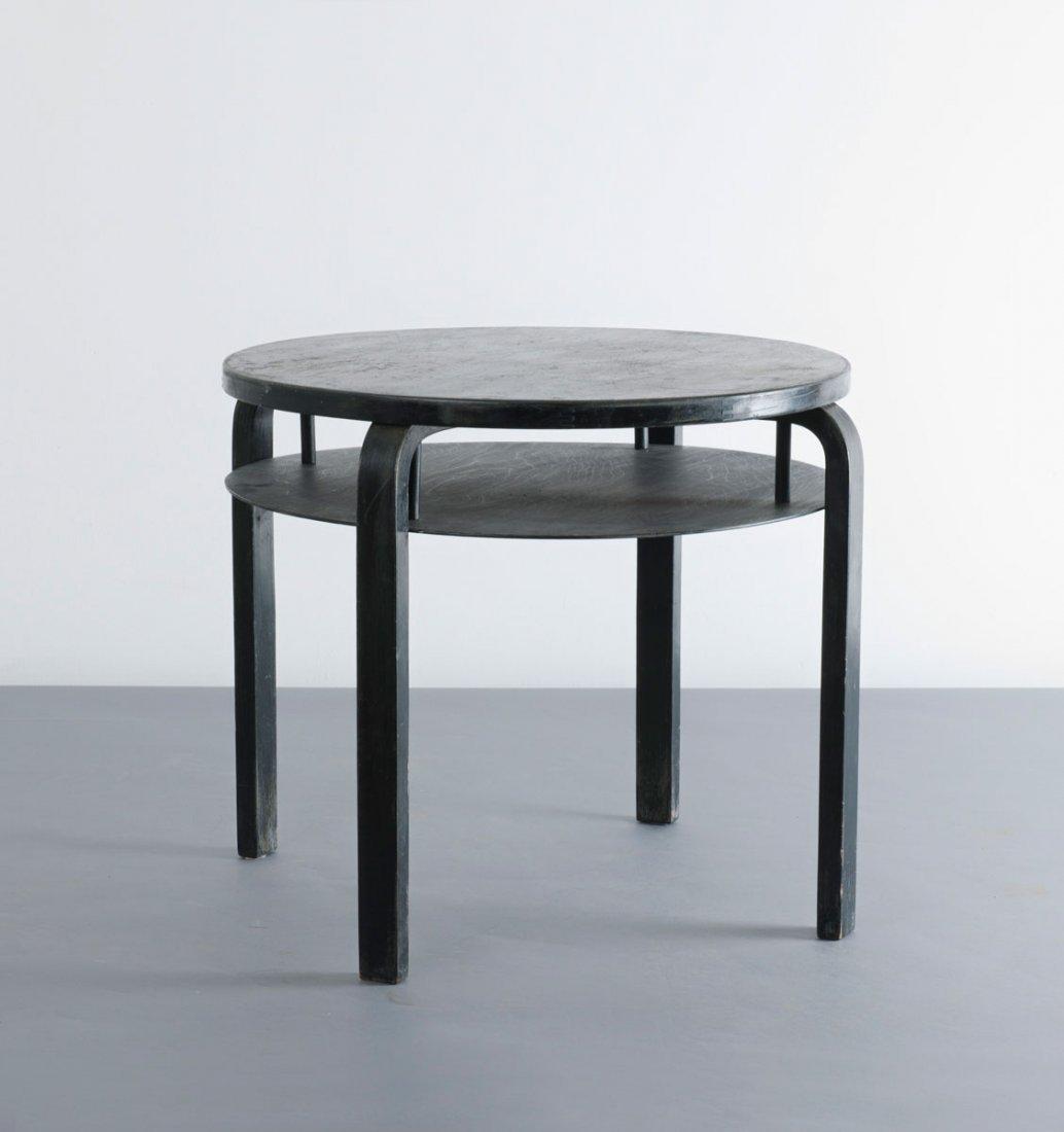 Alvar Aalto. '70' sofa table, 1933. H. 55.5 cm; D. 68.3