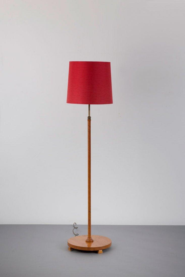 Josef Frank (in the style of). Floor light, 1940s. H. 1
