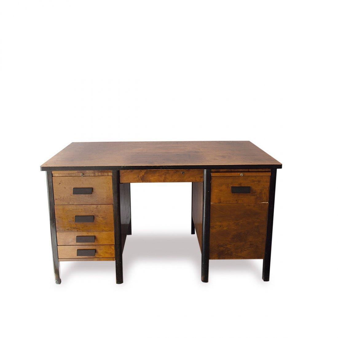 Einar Dahl. Writing desk and chair, 1934. Table: H. 77