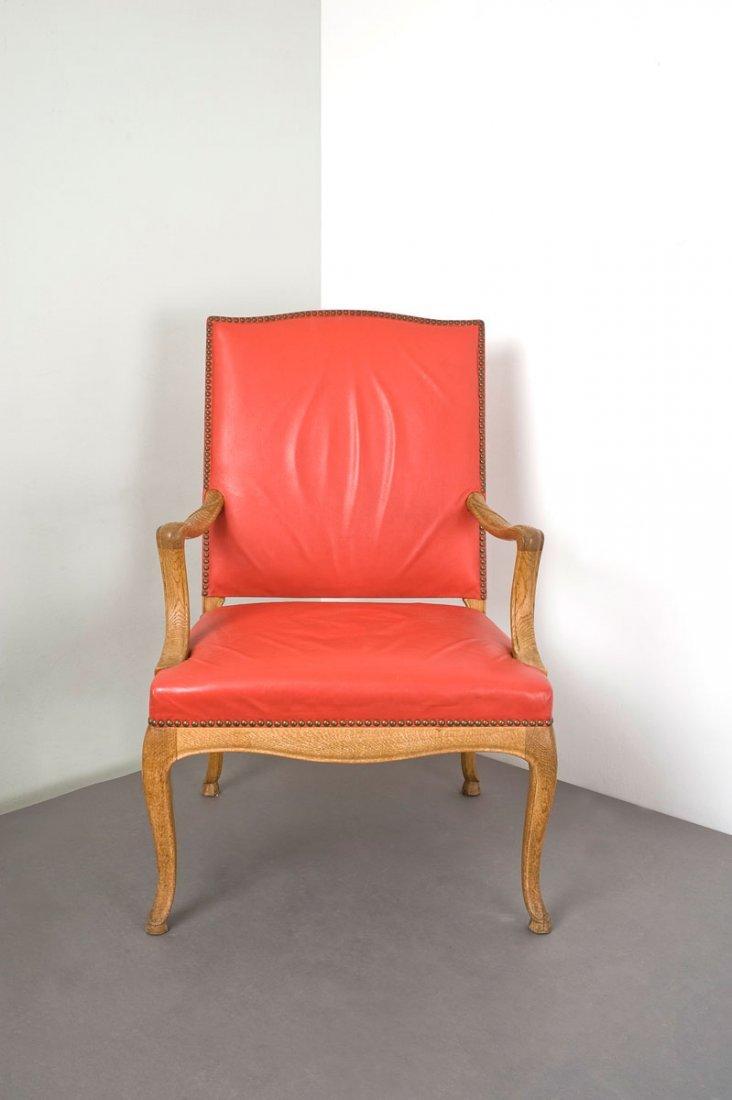 Frits Henningsen. Armchair, c1935. H. 104 x 68 x 67 cm.