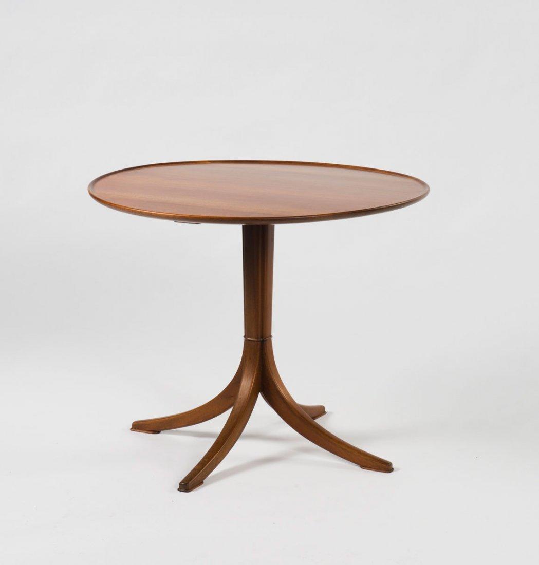 Frits Henningsen. Side table, 1930s. H. 55 cm; D. 68 cm