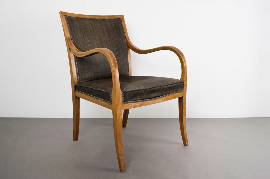 Frits Henningsen. Armchair, 1931. H. 85.5 x 56.6 x 64 c