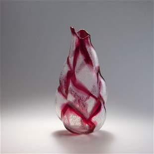 Archimede Seguso. 'Merletto' vase, 1953. H. 36.2 cm. Ma