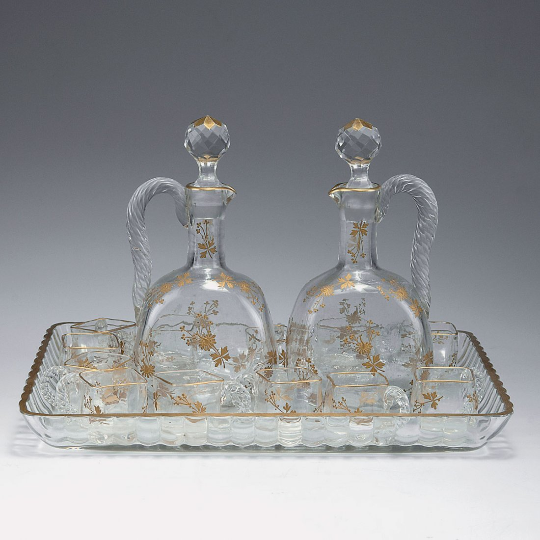 Liqueur set, c1880