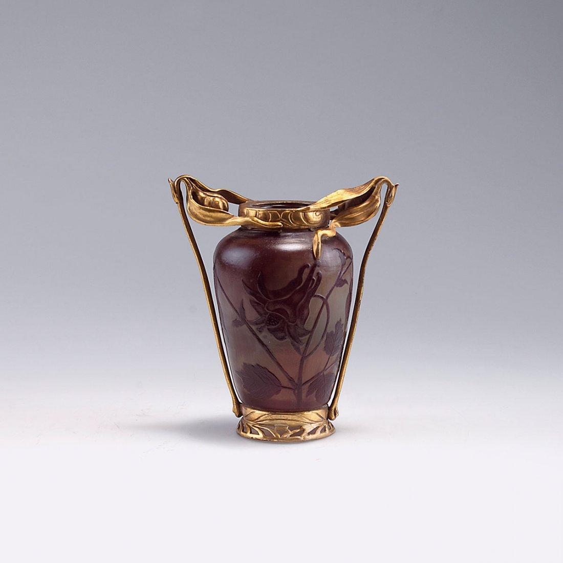 'Ancolies' vase, c1900