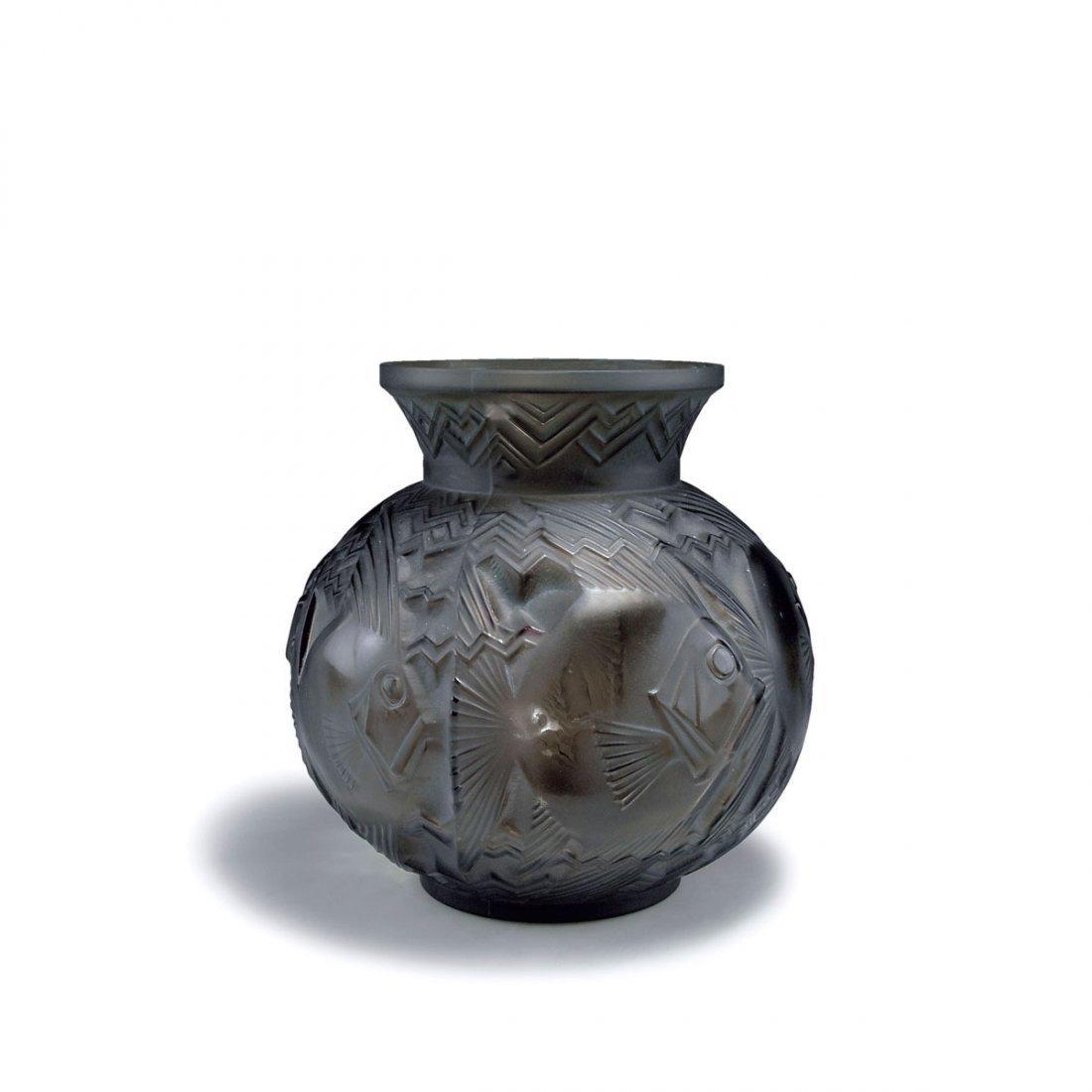 'Poissons Saint-Pierre' vase, c1930