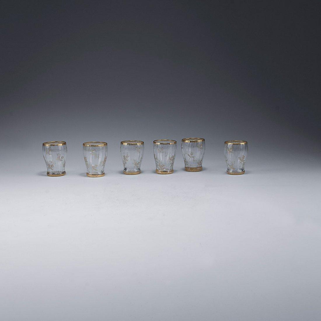 Six 'Chardons' mugs, 1891
