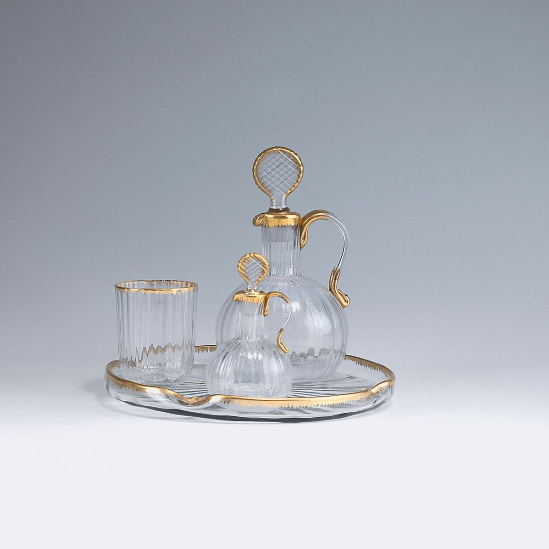 Drinking set for a bedside table, c1891