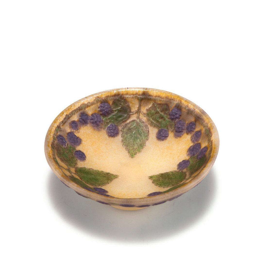 Gabriel Argy-Rousseau, Paris. 'Mûres' bowl, 1914. H.