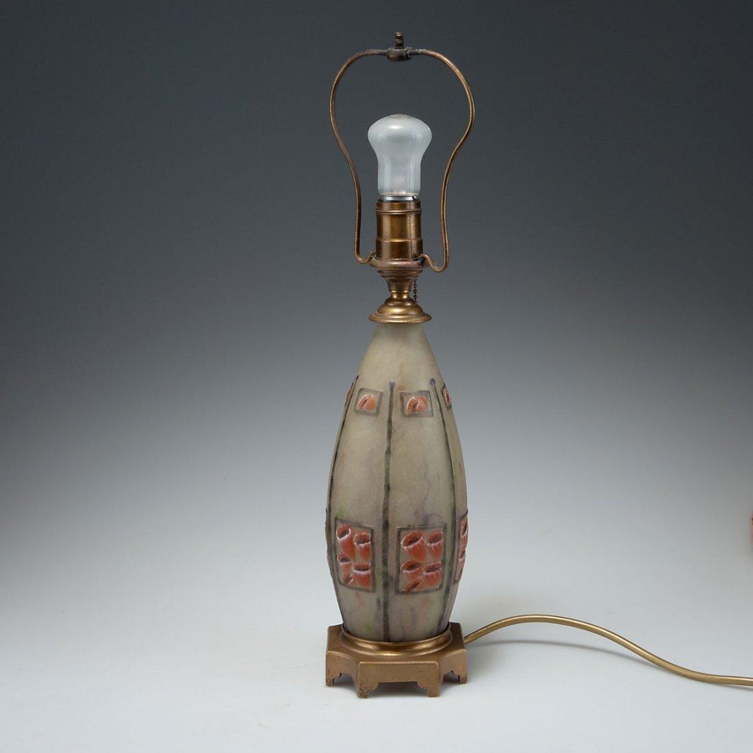 Gabriel Argy-Rousseau, Paris. Vase/lampbase, 1922. H.