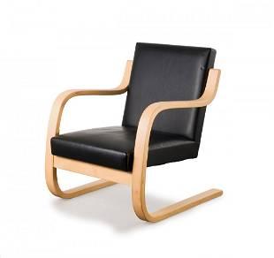 Alvar Aalto. '34/402' easy chair, 1933. H. 75 x 59.5 x