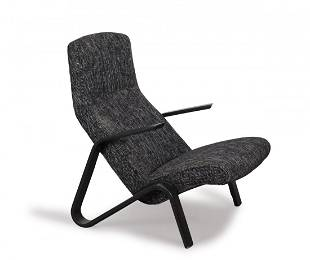 Eero Aarnio. 'Grasshopper' easy chair, 1946. H. 90 x 70