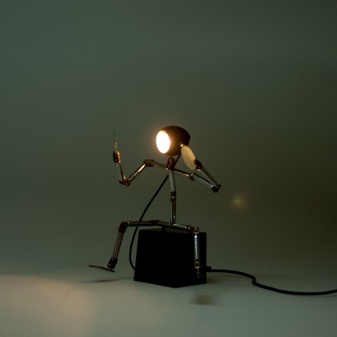 Ygnacio Baranga. 'Osqar' table light, c1985. H. 29 x 19 - 3