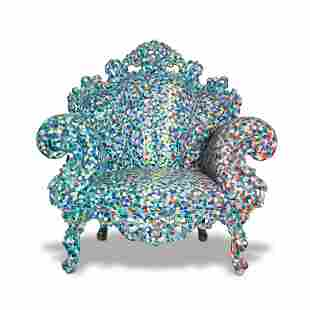 Unique 'Poltrona di Proust' armchair, 1978