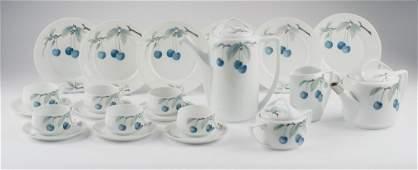 'Donatello' coffee- and tea set, c1910