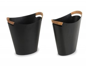 Two Paper Baskets, C1955