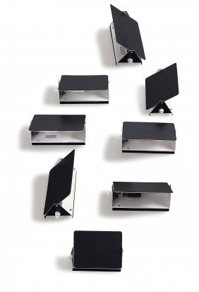 Eight 'cp-1' Sconces, 1960