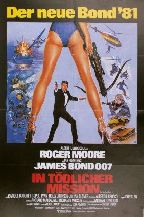 German 'james Bond - In Toedlicher Mission', Movie