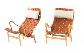 Two 'pernilla' Lounge Chairs, C1934