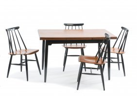 Four Chairs 'fanett', One Table, C1955