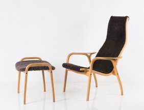 'lamino' Chair And Ottoman, 1956