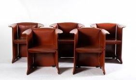 Five 'n-1' Armchairs, C1965
