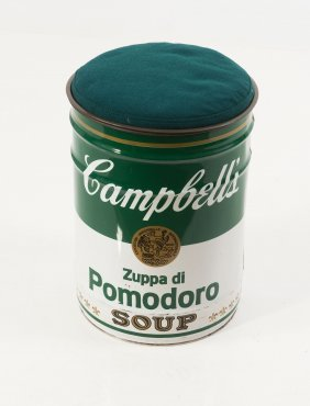 'ommagio Ad Andy Warhol' Stool From The 'ultramobile'