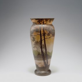 'paysage Lacustre' Vase, 1915-20