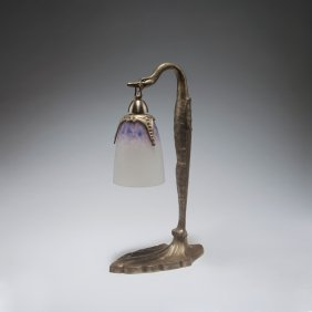 Table Light With A Base By C. Ranc, C1925